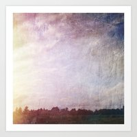 Canvas Horizon Art Print