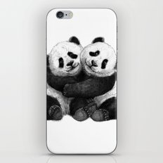 Panda's Hugs G143 iPhone & iPod Skin