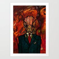 Mr. Kidface (Bug) Art Print
