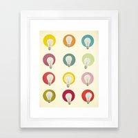 Bright Ideas Framed Art Print