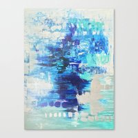 Walked on Water Canvas Print