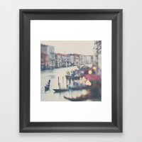 Winter In Venice ...  Framed Art Print