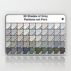 50 Shades of Grey - Pantone Not Porn Laptop & iPad Skin