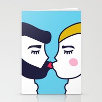 Kiss (One) Stationery Cards