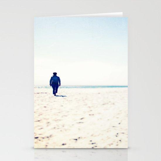 Beach & Blue Stationery Card