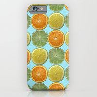 Lemons, Limes, Oranges, Oh my!  Citrus Photography iPhone 6 Slim Case