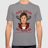 Clara Oswald's Easy Souffle Mix Mens Fitted Tee Tri-Grey SMALL