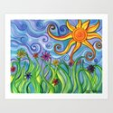 Sunny Skies Art Print