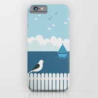 iPhone & iPod Case featuring Sitting on the Fence by Matt Andrews