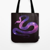SPACE SNAKE Tote Bag