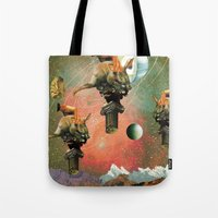 3 Pillars  Tote Bag