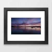 Sydney Sunset Framed Art Print