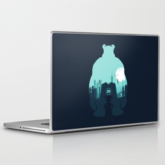 Welcome To Monsters, Inc. Laptop & iPad Skin