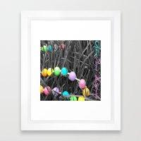Serenity Beads Framed Art Print