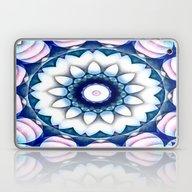 Denim Flower Kaleidoscop… Laptop & iPad Skin