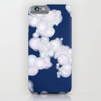 iPhone & iPod Case featuring Cloudy Night by mentalX