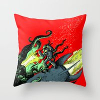 Ode to Joy - Color Throw Pillow