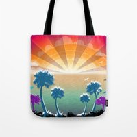 Golden Silver and Sunshine Tote Bag