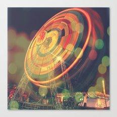 The Ferris Wheel II Canvas Print