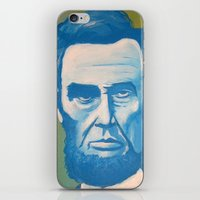 Blue Lincoln iPhone & iPod Skin
