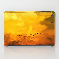Flight At The Golden Hou… iPad Case