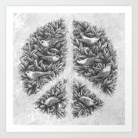 Peace Naturalis Art Print