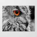 ORANGE OF MY EYE Canvas Print