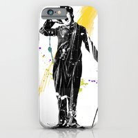 iPhone & iPod Case featuring charlie chaplin 05 by manish mansinh