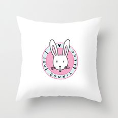 I love Donnie Darko Throw Pillow