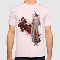 Kunoichi 1 Of 4 Mens Fitted Tee Light Pink SMALL