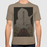 Nausicaa Of The Valley O… Mens Fitted Tee Tri-Coffee SMALL