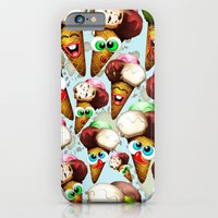 Ice Cream Cones Cartoon Pattern iPhone 6 Slim Case