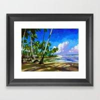 Playa Bonita Framed Art Print