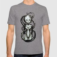 The Flower of Carnage Mens Fitted Tee Tri-Grey SMALL