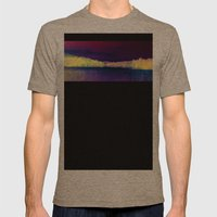 Peaceful Reflections Mens Fitted Tee Tri-Coffee SMALL