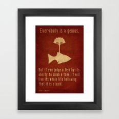 Einstein #2 Framed Art Print