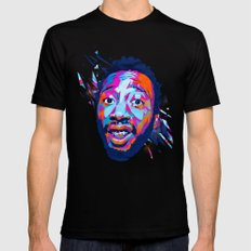 Ol' Dirty Bastard: Dead Rappers Serie SMALL Black Mens Fitted Tee