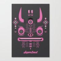 Super Beast Canvas Print