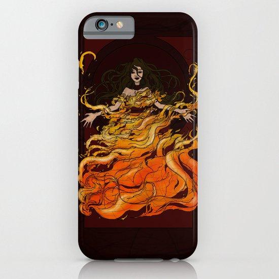 Girl on Fire iPhone & iPod Case