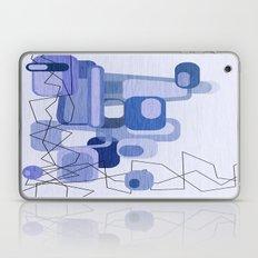 Feeling Blue. Laptop & iPad Skin