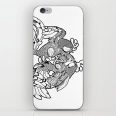 Rooster BW iPhone & iPod Skin