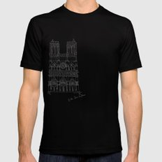 Architecture SMALL Mens Fitted Tee Black