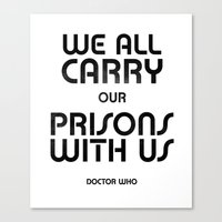 We All Canvas Print