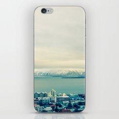 Blue Reykjavik - Iceland iPhone & iPod Skin