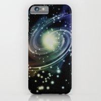 iPhone & iPod Case featuring Galaxy by Jenn Burden