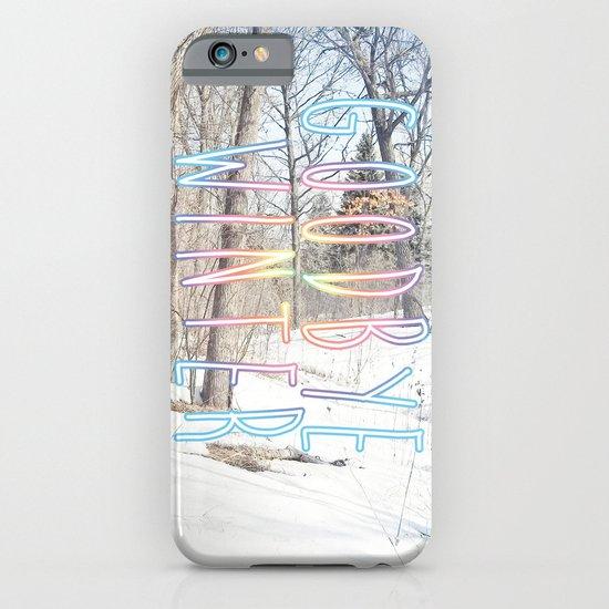 Goodbye Winter iPhone & iPod Case