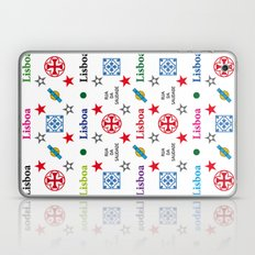 Lisboa, Portugal, Vintage Apple Laptop Skin Iphone Ipad Laptop & iPad Skin