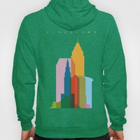 Shapes of Cleveland accurate to scale Hoody