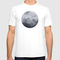 Planetary Bodies - Cloud Mens Fitted Tee White SMALL
