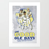 Run TMC Art Print